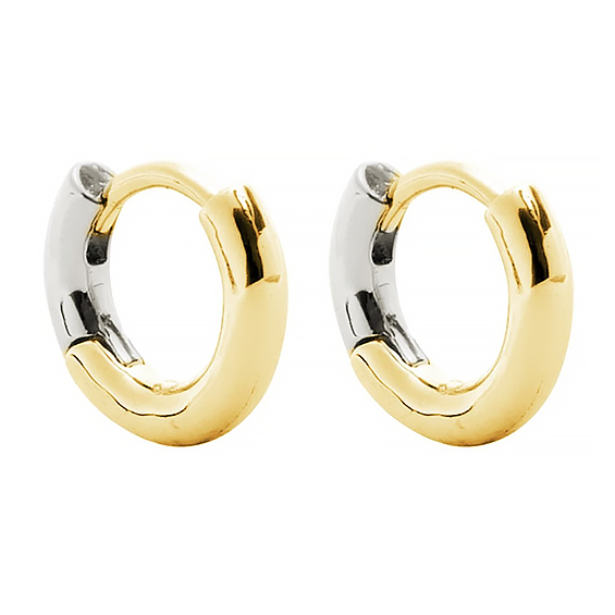 Machete - Huggie Hoop Earrings - 3/4 Gold