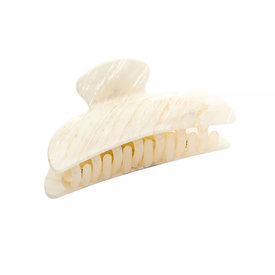 Machete Machete - Midi Heirloom Claw Hair Clip - White