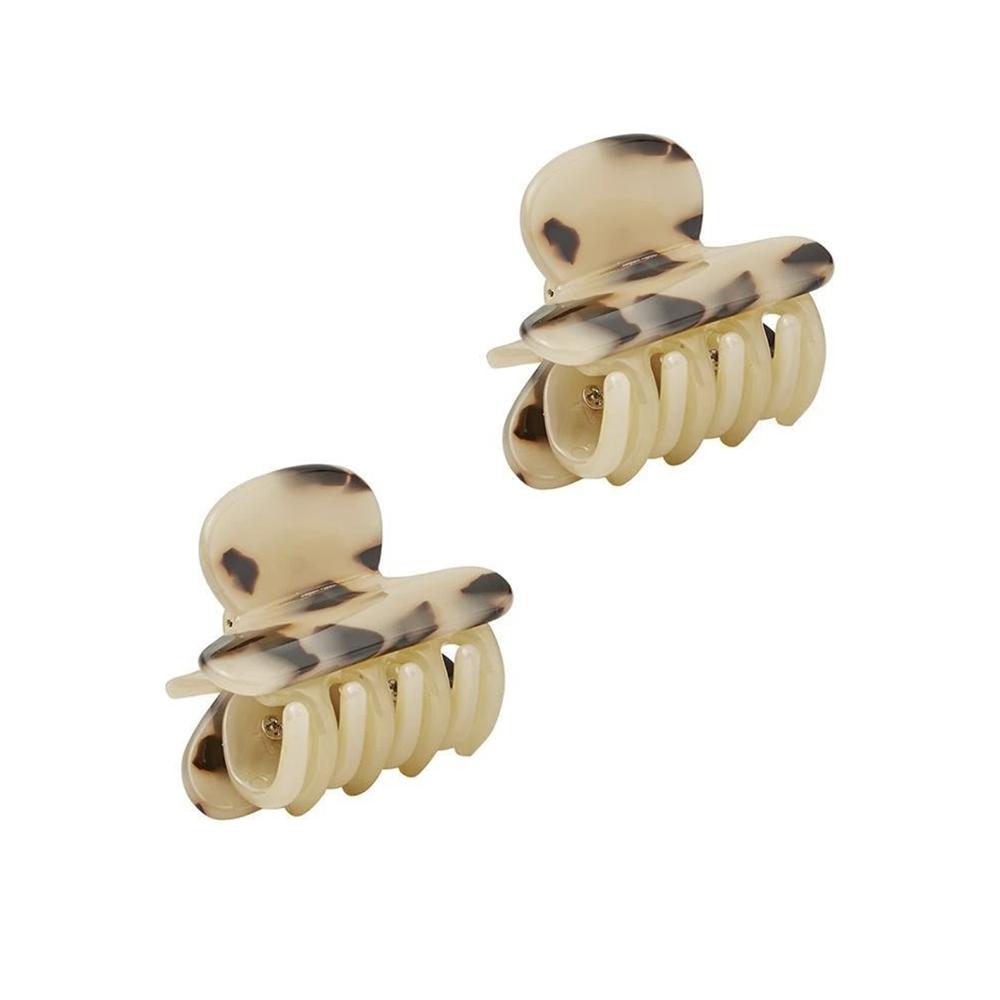 Machete - Twin Heirloom Claw Hair Clip - Blonde Tortoise