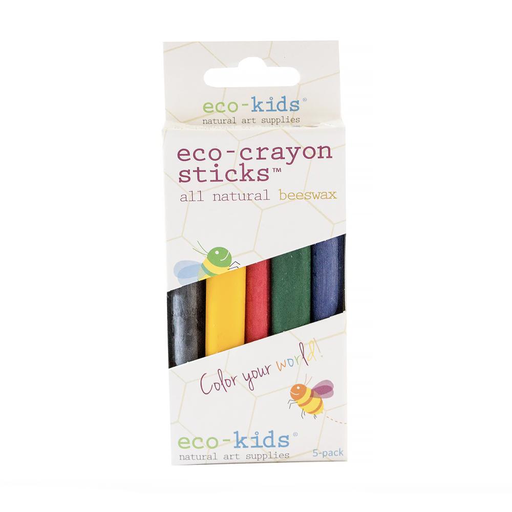 Eco Kids Crayon Sticks - Set of 10