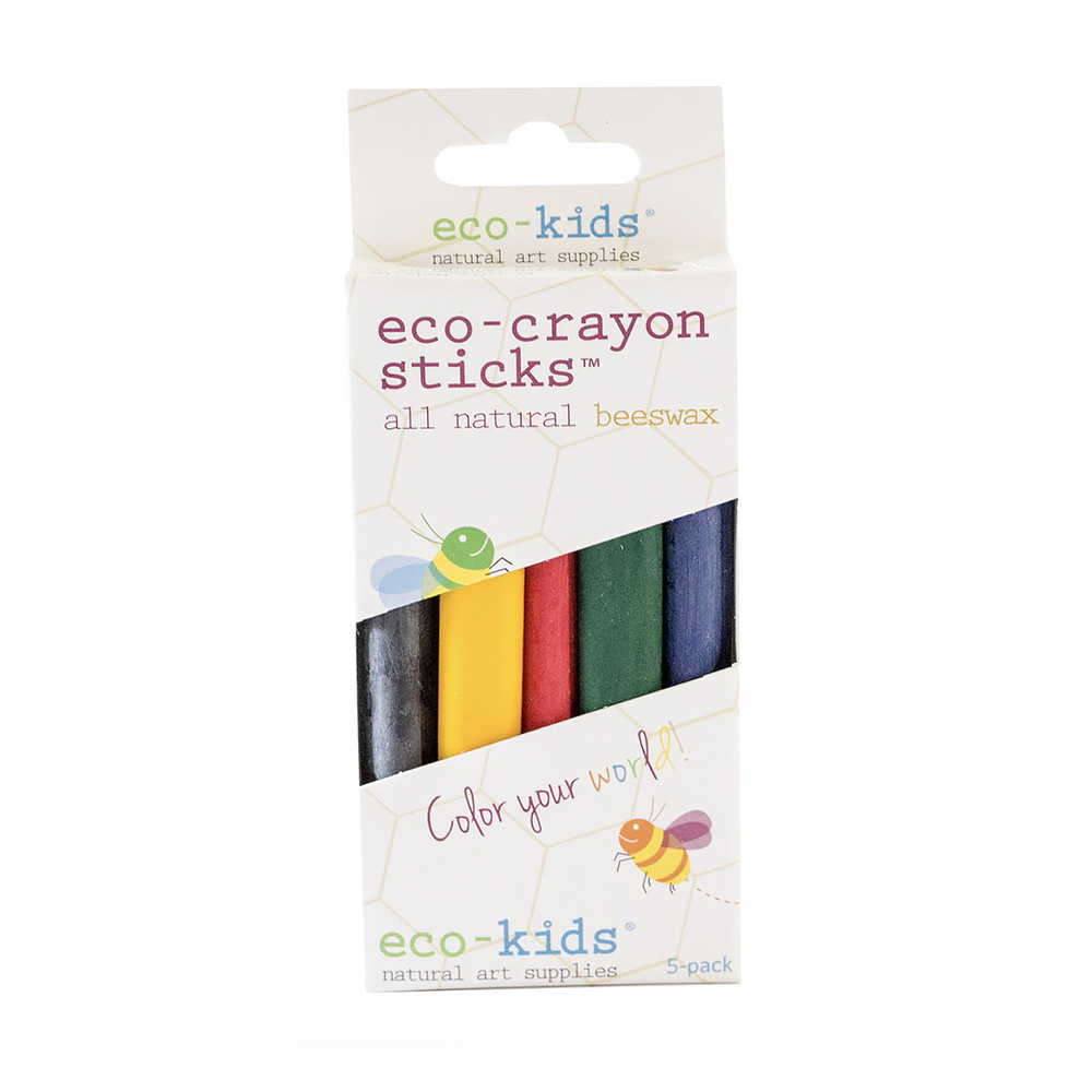 Eco-Kids Eco Kids Crayon Sticks - Set of 10
