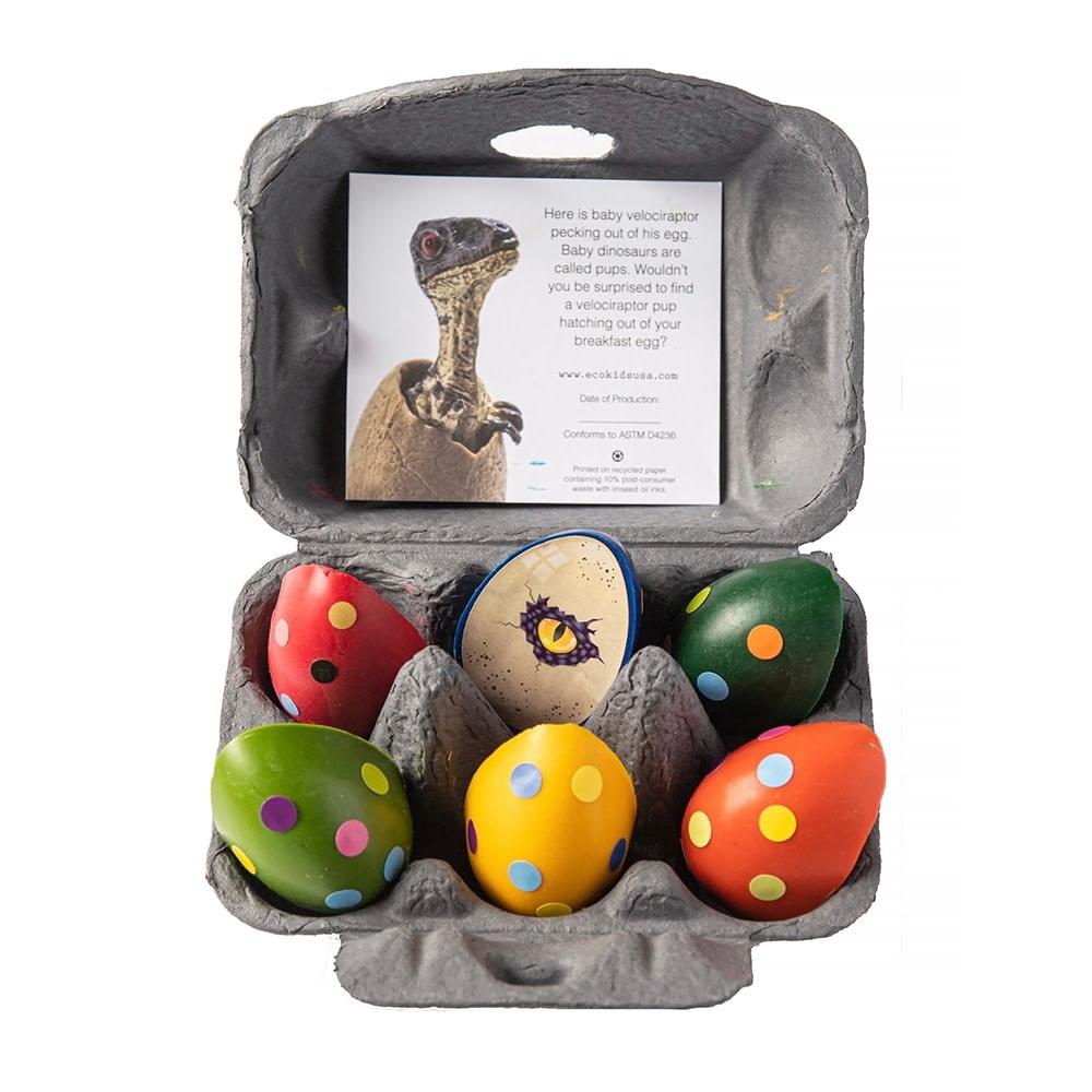 Eco Kids Crayons - Dinosaur Eggs