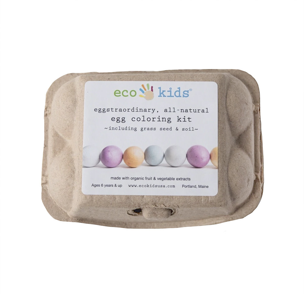 Eco Kids - All Natural Egg Coloring Kit