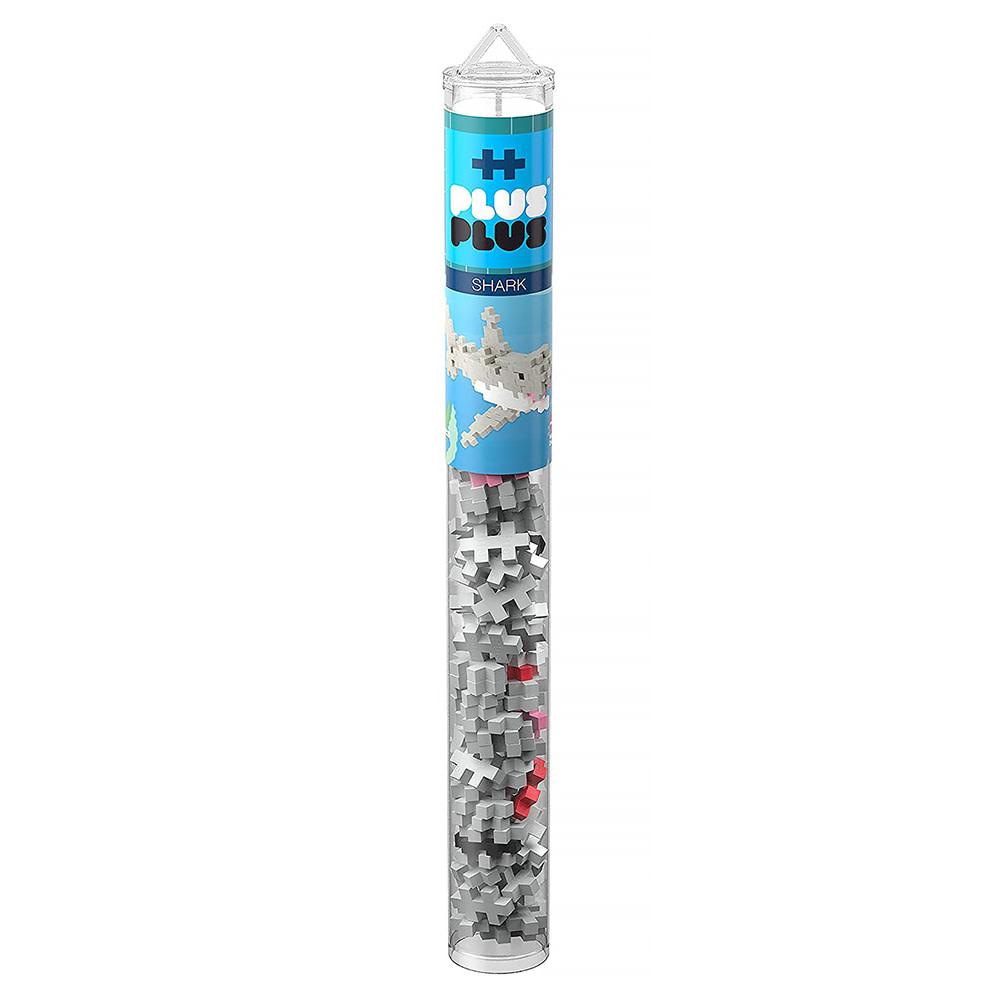 Plus Plus Plus Plus Mini Maker Tube - Shark