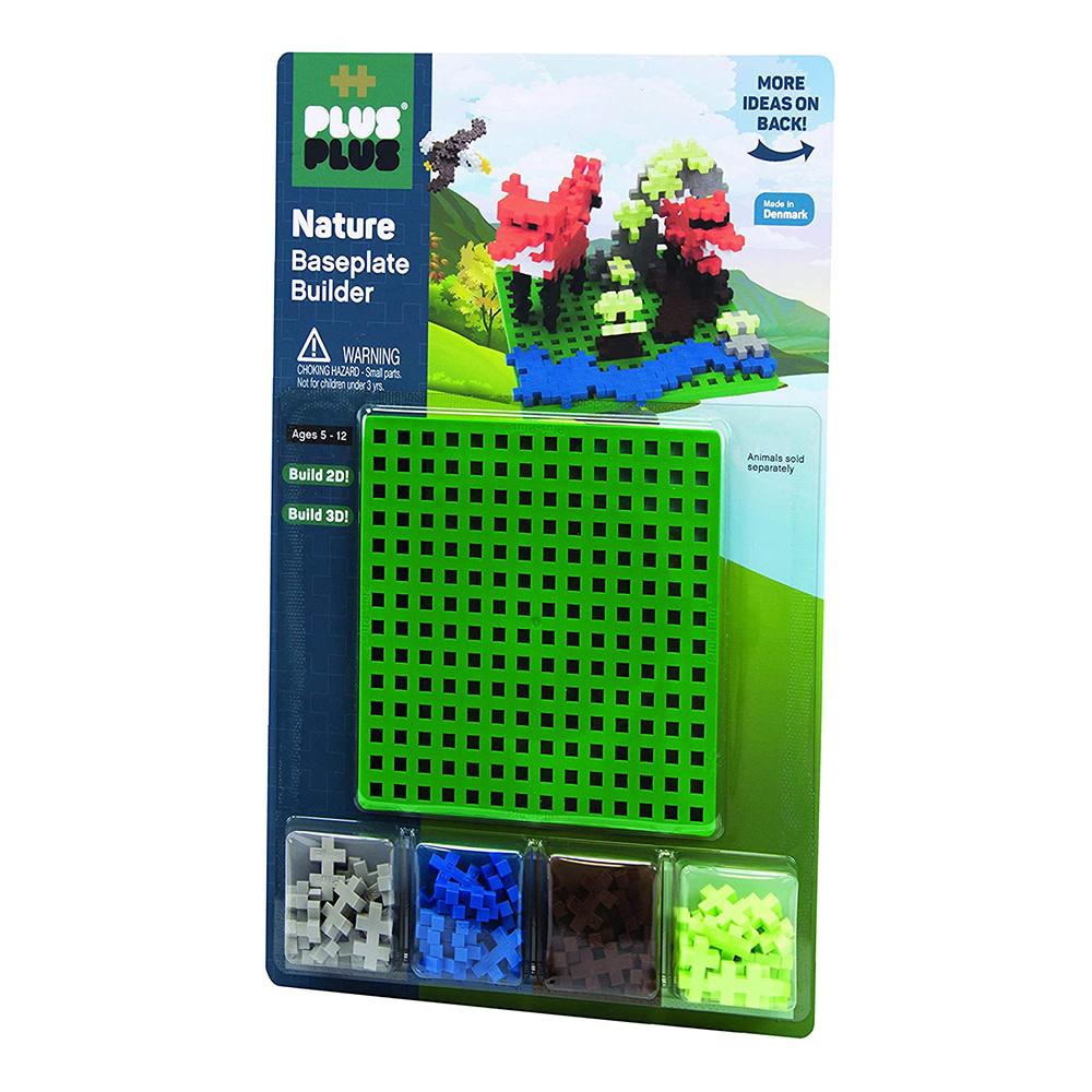 Plus Plus Plus Plus Baseplate Builder - Nature