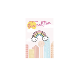 Talking Out of Turn Talking Out Of Turn Enamel Pin - Rainbow