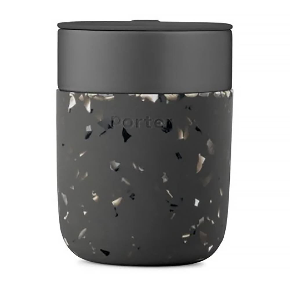 Porter Mug Terrazzo 12oz - Charcoal
