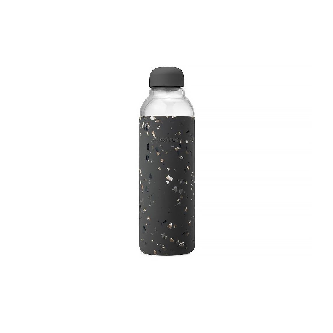 Porter Bottle Terrazzo 20oz - Charcoal