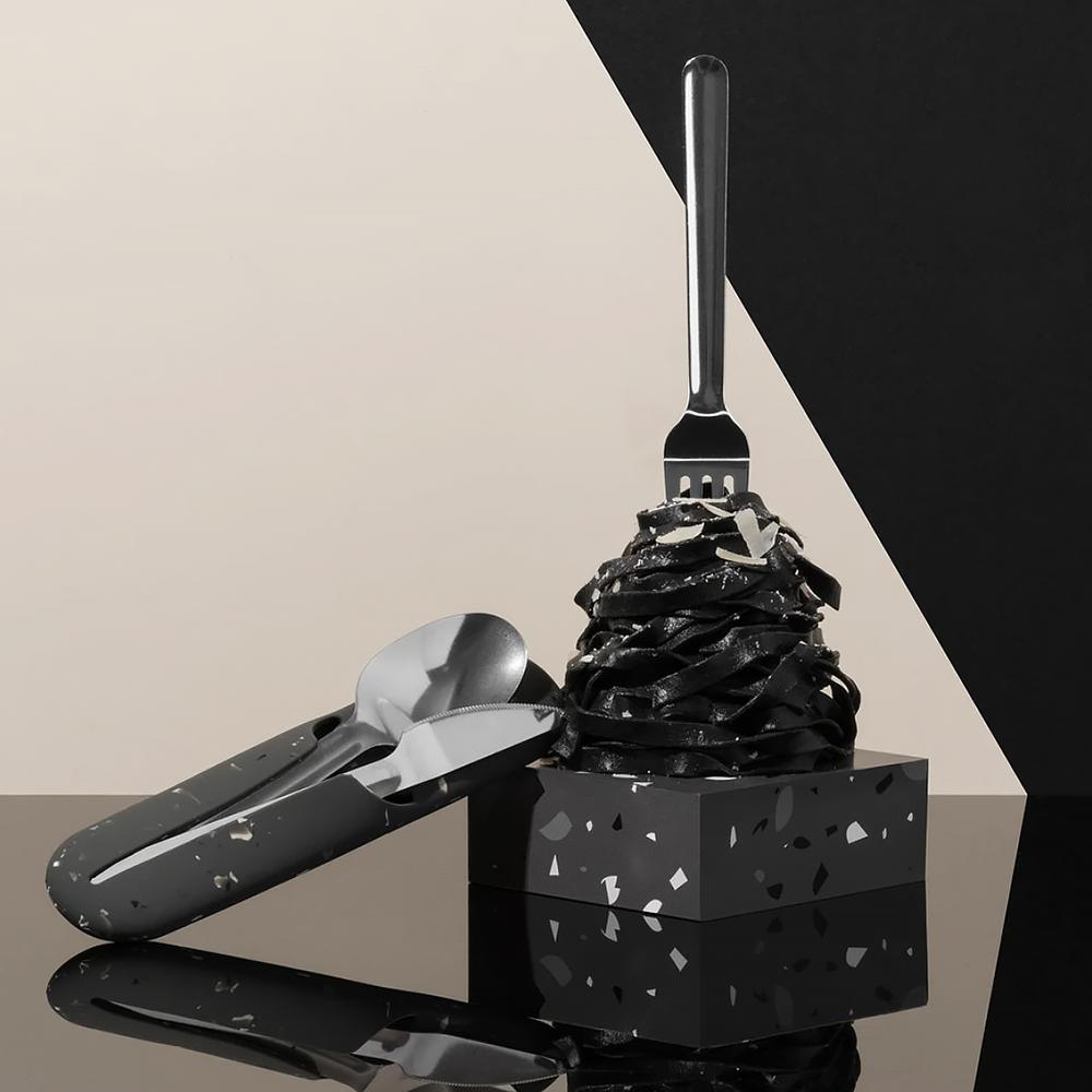 Porter Utensil Set - Terrazzo Charcoal