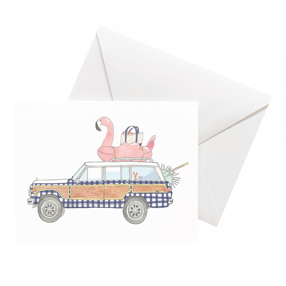 Sara Fitz Card - Check Wagoneer