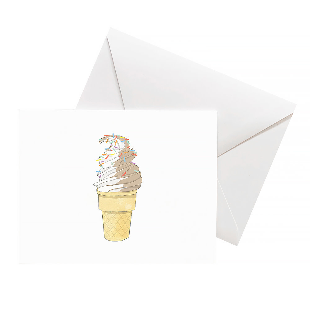 Sara Fitz Card - Soft Serve