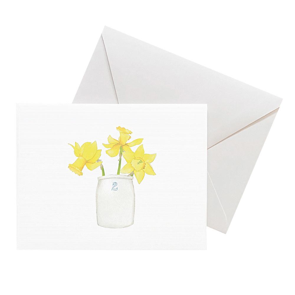Sara Fitz Card - Daffodil