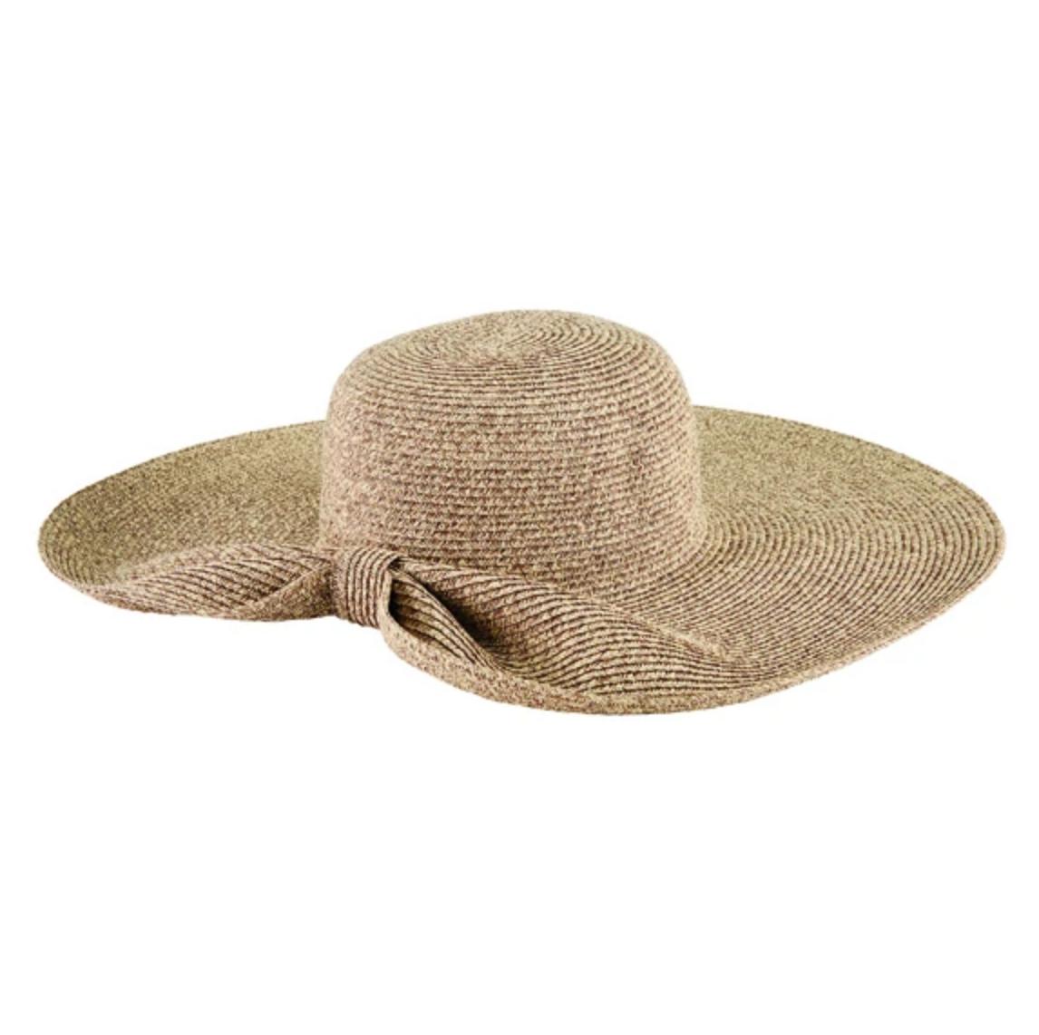 Floppy Ultrabraid Hat - Gathered Back - Natural