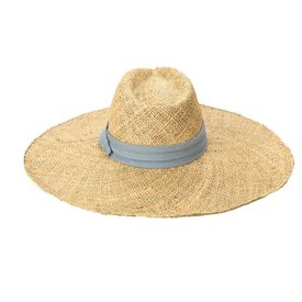 """San Diego Hat Company Seagrass Hat - Suede Band - 5"""""""