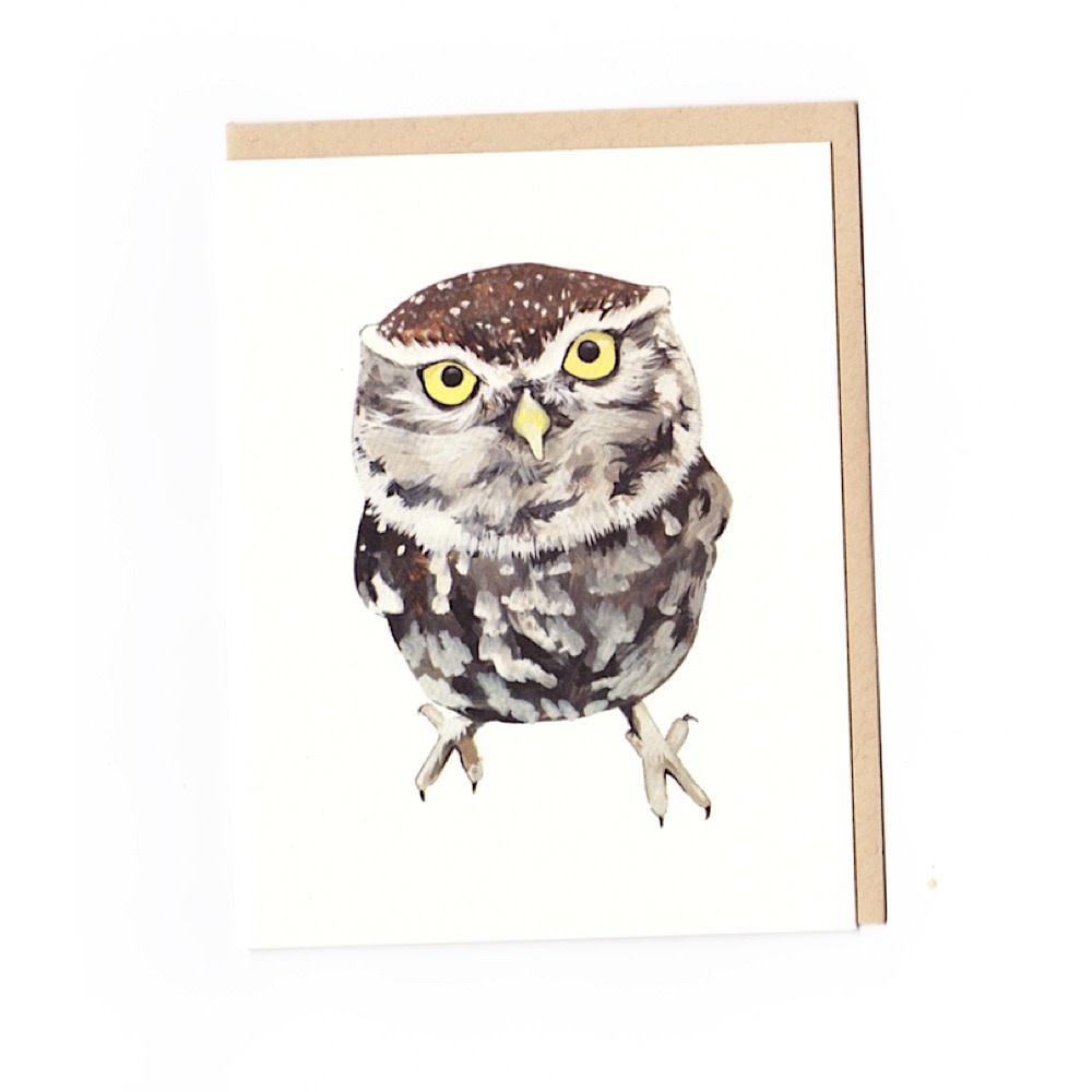 Irene Akio Card - Little Owl