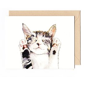 Irene Akio Irene Akio Card - Kitty Cat