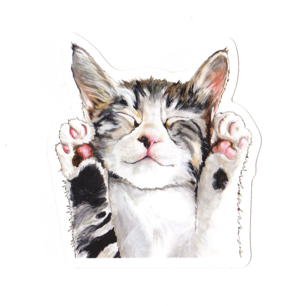 Irene Akio Irene Akio Sticker - Kitty Cat