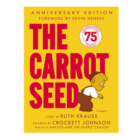 Harper Collins The Carrot Seed Board Book: 75th Anniversary