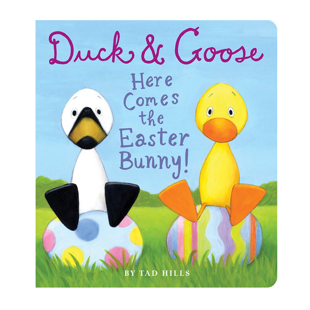 Duck & Goose Here Comes the Easter Bunny