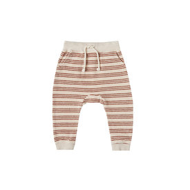 Rylee + Cru Rylee + Cru Striped Sweatpants - Shell