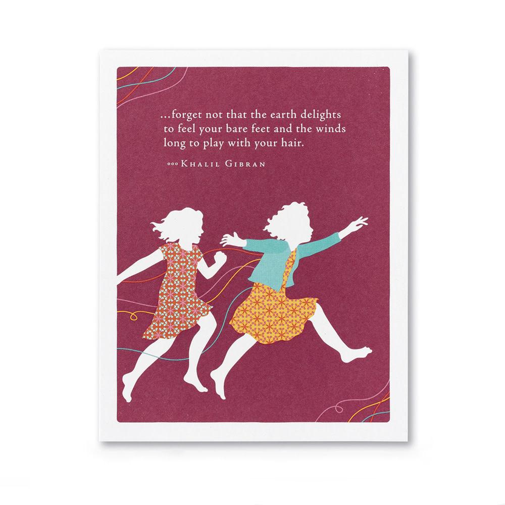 Compendium Birthday Card - Forget Not...