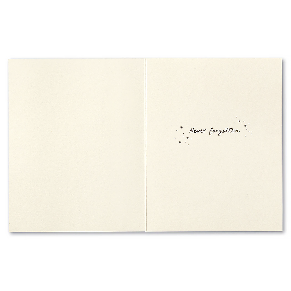 Sympathy Card - Always remembered