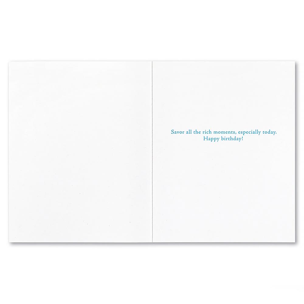 Birthday Card - Life's too short...