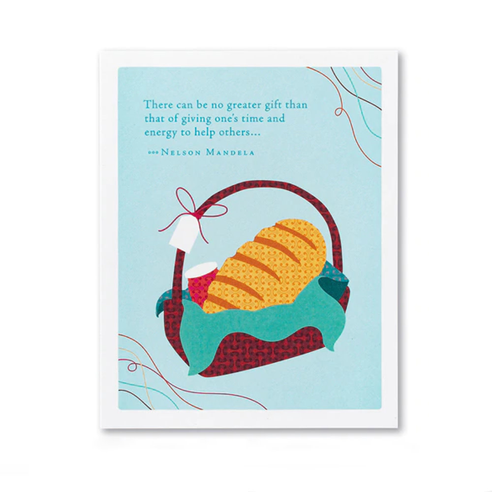 Appreciation Card - There Can Be No Greater Gift