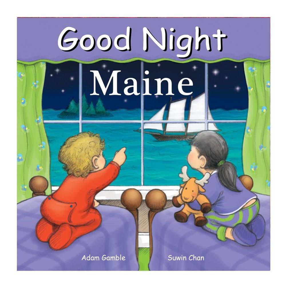 Penguin Good Night Maine - Board Book