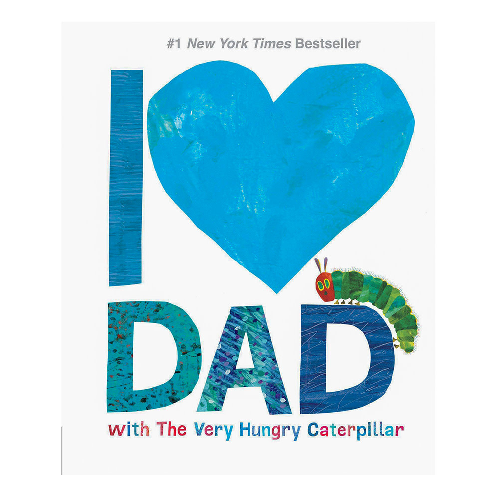 Penguin I Love Dad with The Very Hungry Caterpillar