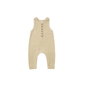 Quincy Mae Quincy Mae Sleeveless Jumpsuit - Gold Stripe