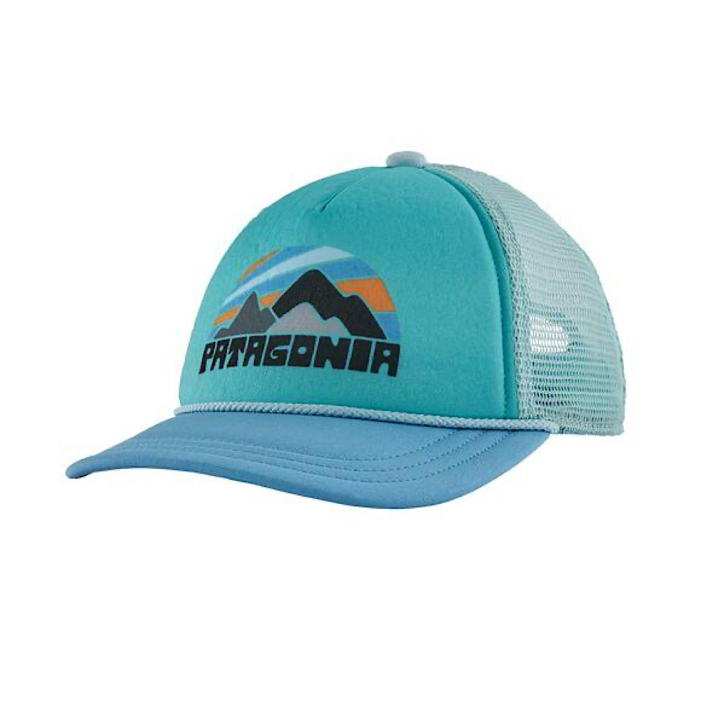 Patagonia Patagonia Kids Interstate Hat - Fitz Roy Rights Lago Blue