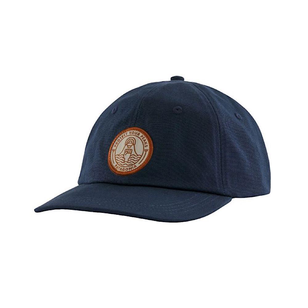 Patagonia Peak Protector Badge Trad Cap - New Navy
