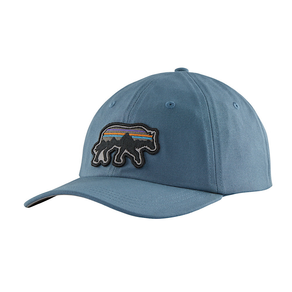 Patagonia Back For Good Trad Cap - Pigeon Blue w/ Wolf