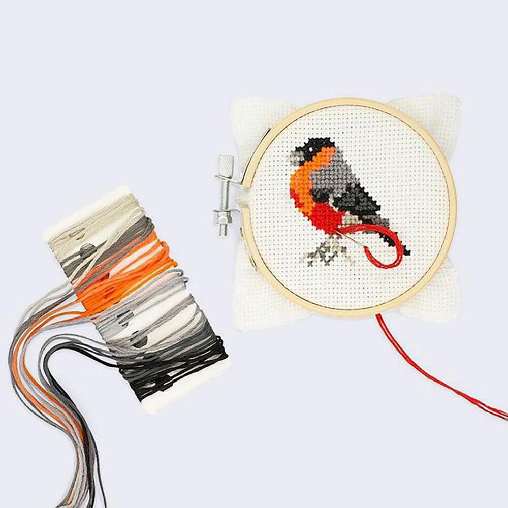 Mini Cross Stitch Embroidery Kit - Bird
