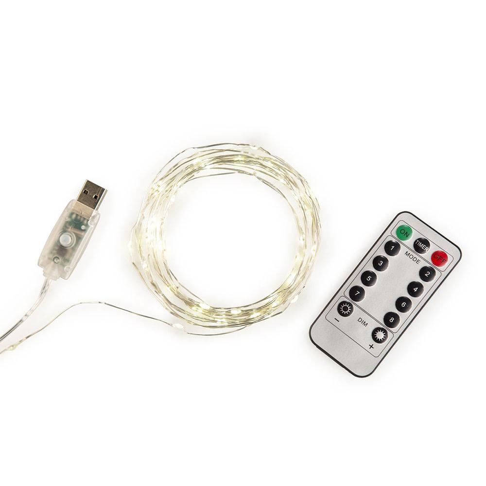 Extra Long Silver String Lights