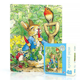 New York Puzzle Co. New York Puzzle Co - Peter Rabbit - 20 Piece Mini Jigsaw Puzzle