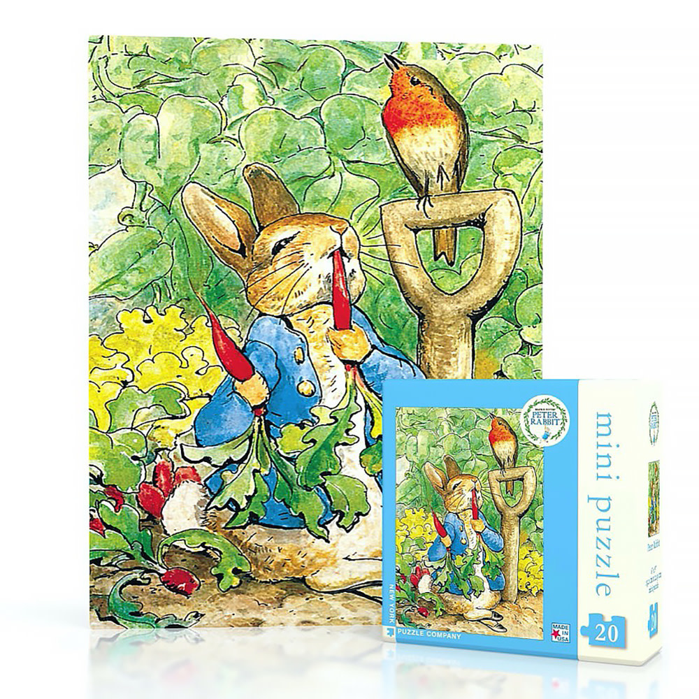 New York Puzzle Co - Peter Rabbit - 20 Piece Mini Jigsaw Puzzle