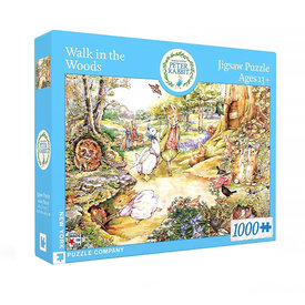 New York Puzzle Co. New York Puzzle Co - Walk in the Woods - 1000 Piece Jigsaw Puzzle