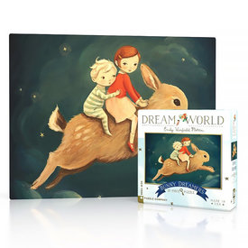 New York Puzzle Co. New York Puzzle Co - Bunny Dreamers - 20 Piece Mini Jigsaw Puzzle