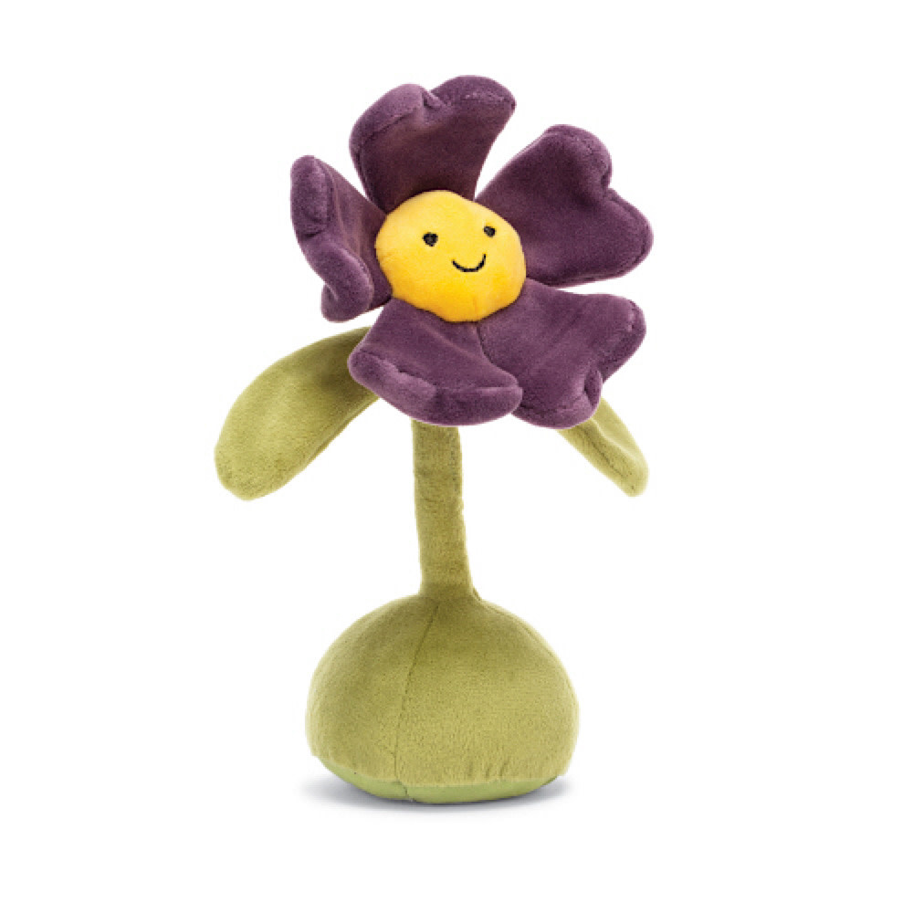 Jellycat Flowerlette Pansy - 8 Inches