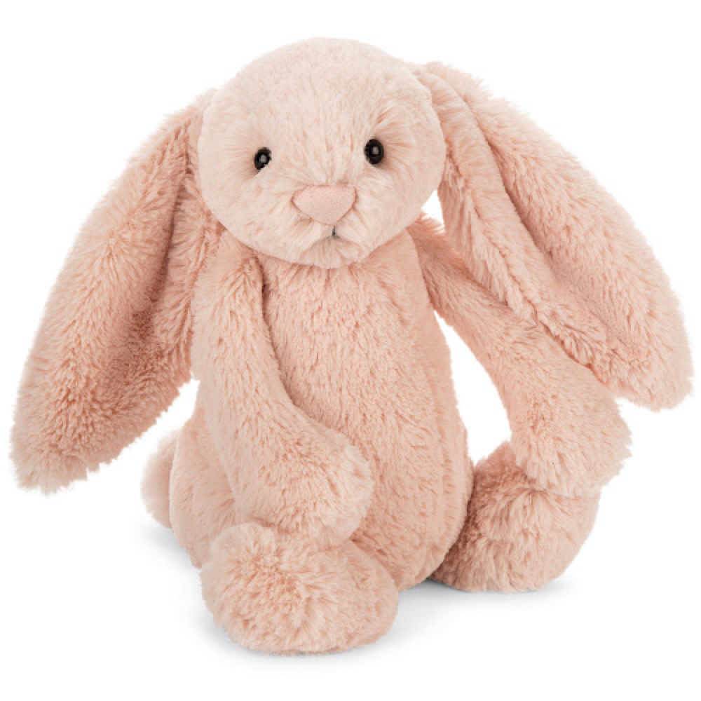 Jellycat Bashful Blush Bunny - Medium - 12 Inches