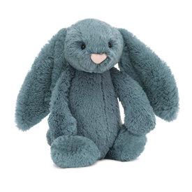 Jellycat Jellycat Bashful Dusky Blue Bunny - Medium - 12 Inches