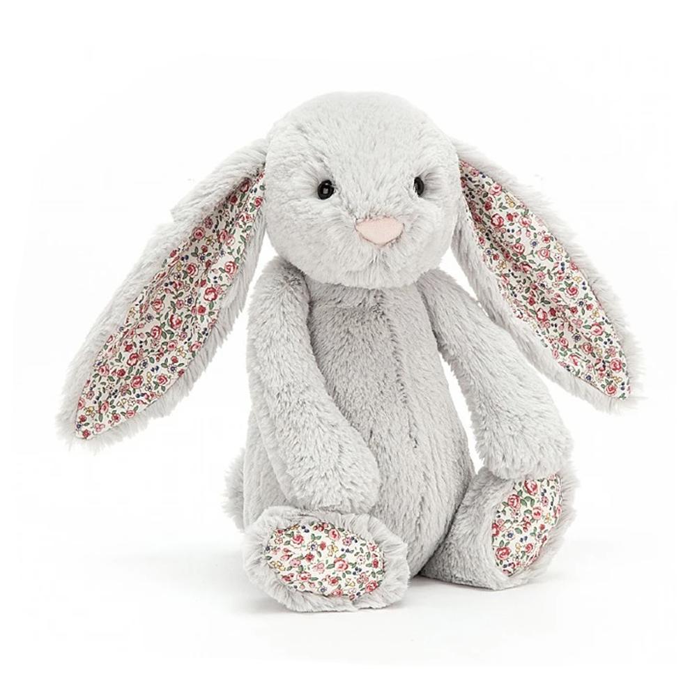Jellycat Blossom Bunny Silver - Medium - 12 Inches