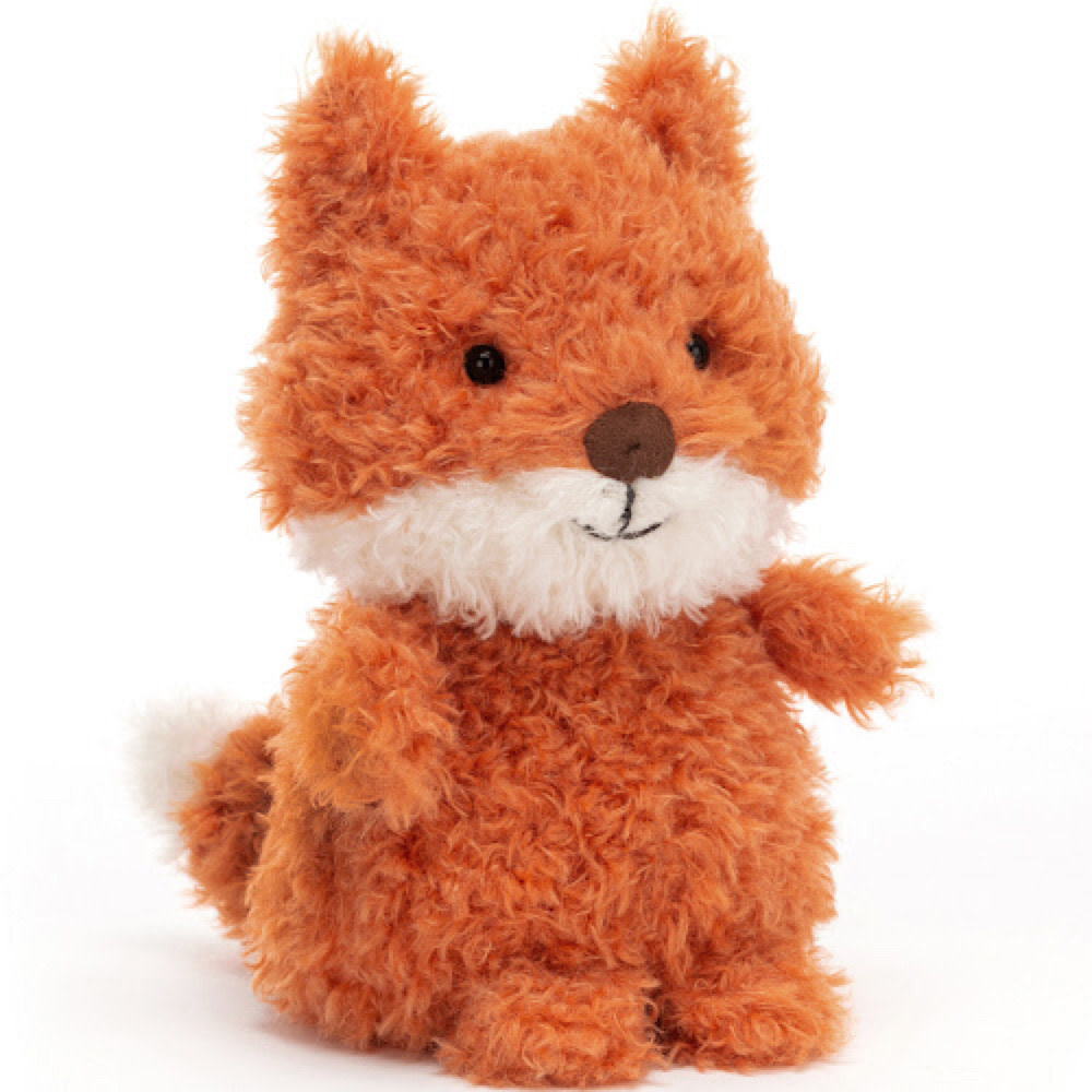 Jellycat Little Fox Toy - 7 Inches