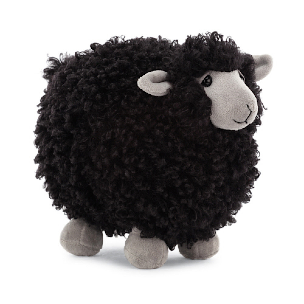 Jellycat Rolbie Sheep Black - Small - 6 Inches