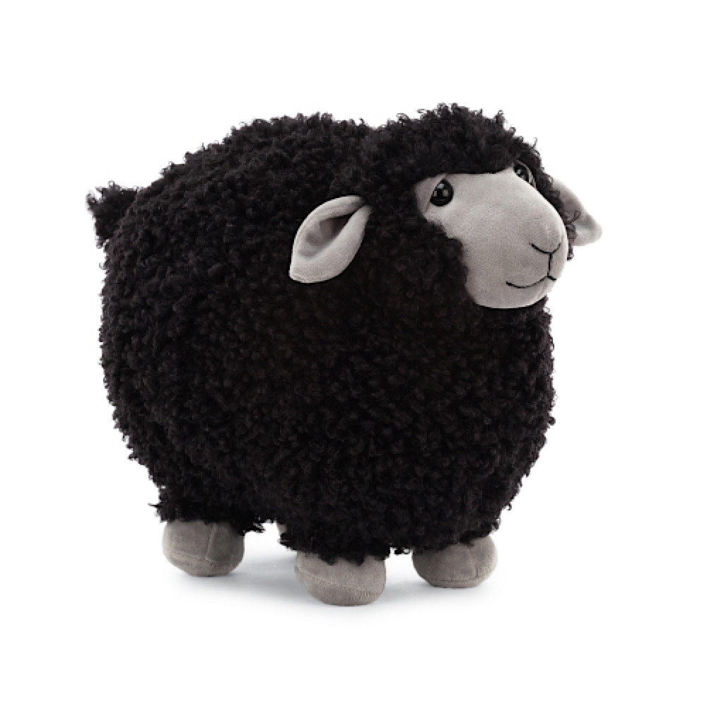 Jellycat Rolbie Sheep Black - Medium - 15 Inches