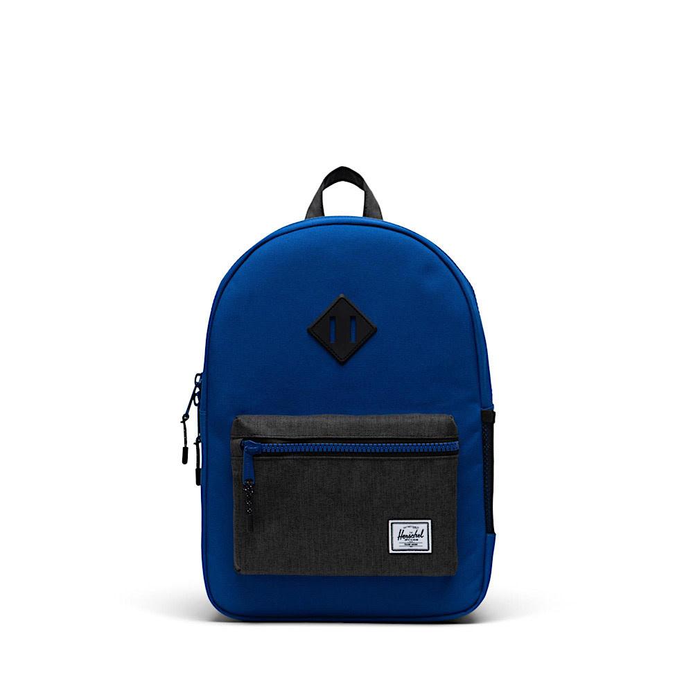 Herschel Heritage Youth Backpack - Surf The Web/Black Crosshatch