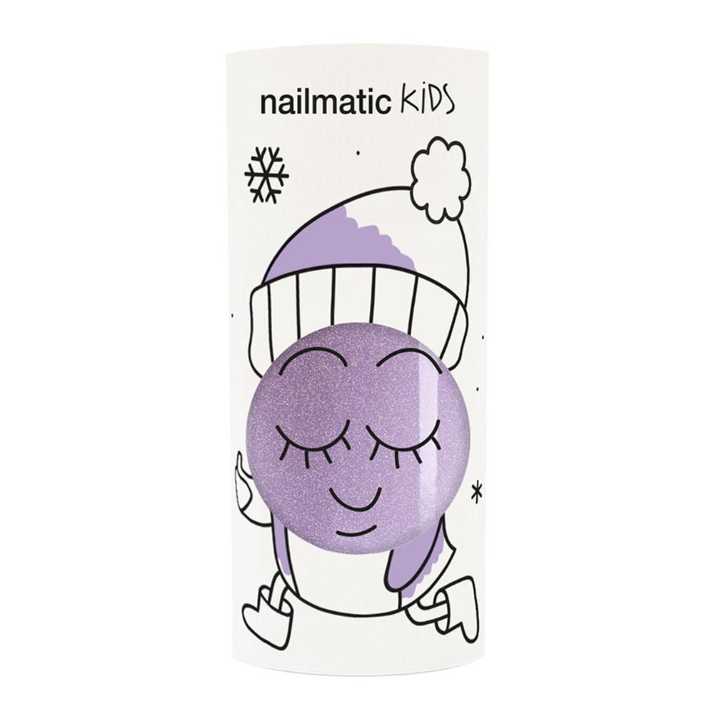 Nailmatic Nail Polish  - Piglou - Purple Glitter