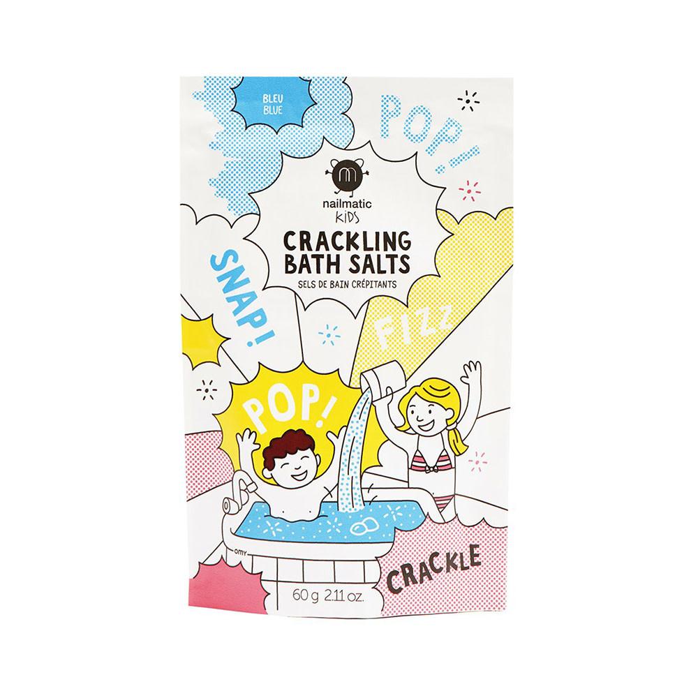 Nailmatic Crackling Bath Salts - Blue